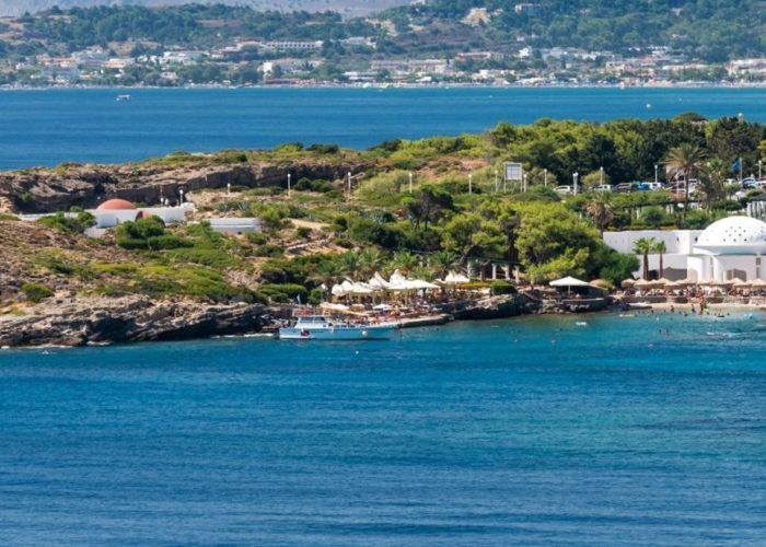 Kalithea Springs in Rhodes island