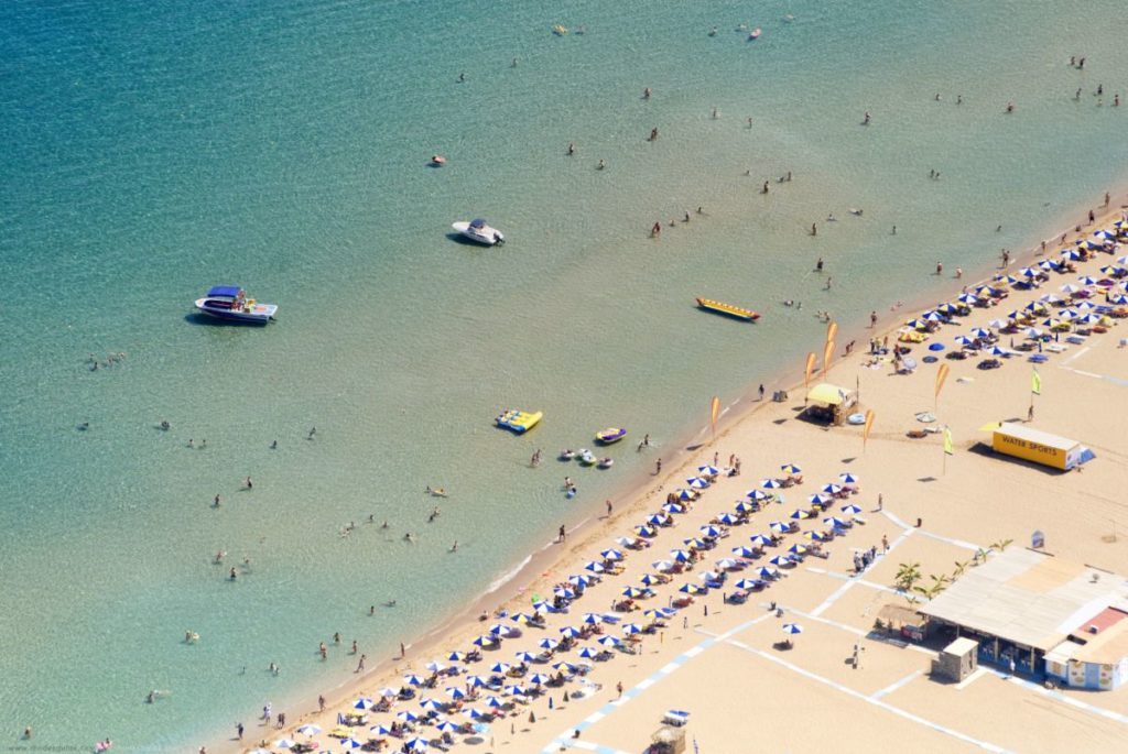 Location-Tsampika-beach-in-Rhodes-island